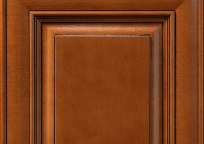 Heritage Brown Stain with Chocolate Glaze